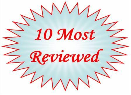 Josh the cat's FWFR's 10 most reviewed